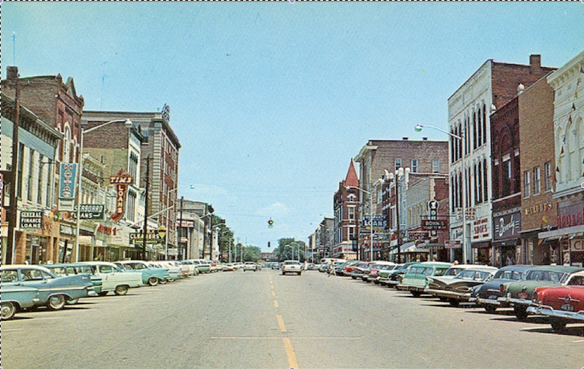 DowntownHenderson1950's